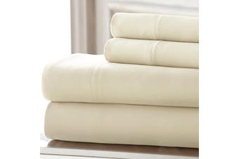 Morgan and Spencer 1000 Thread Count Cotton Rich Sheet Set - King / Cream