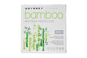Odyssey Living Bamboo Mattress Protector - King Single