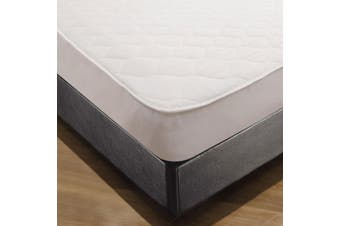 Shangri-La Cotton Polyester Fitted Mattress Protector - King Single