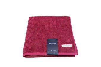 Sheridan Trenton Bath Towel Berry - 69x140cm / Berry