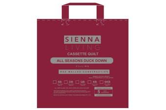 Sienna Living 50% Duck Down 50% Duck Feather Quilt - Queen