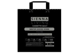 Sienna Living 80% Goose Down 20% Goose Feather Quilt - Single