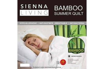 Sienna Living Bamboo Fibre Summer Quilt - Single