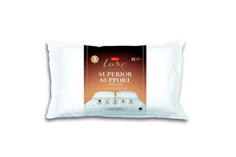 Tontine Luxe Superior Comfort High FIrm Pillow 2 Pack - Standard