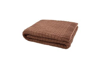 Bambury Tanami Woodrose Throw Rug - Large