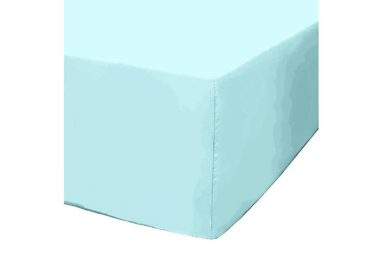 Park Avenue 1200 Thread Count Cotton Blend Fitted Sheet - King / Mint