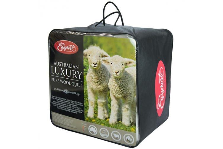Easyrest Australian Wool Winter Quilt - Single