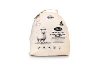 Easyrest Australian Wool Blend U Shape Pillow - U Shape