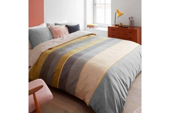 Bedding House Bodhi Yellow Quilt Cover Set