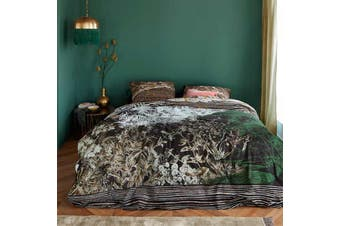 Bedding House Tales Black Quilt Cover Set