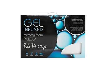 Bas Phillips Gel Infused Memory Foam Pillow - Standard