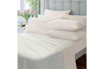 Jenny Mclean Egyptian Cotton 175GSM Flannelette Sheet Set