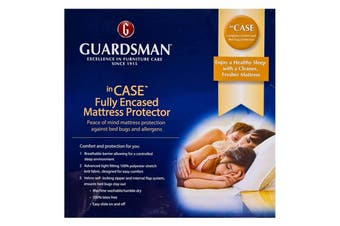 Guardsman Fully Encased Mattress Protector - Double
