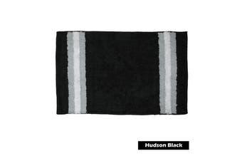 Hudson 100% Cotton Bath Mat Black