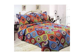 2 Piece Camay Coverlet Set Single/Double