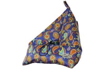 Handsfree Printed Book Seat Book Tablet and iPad Holder Paisley