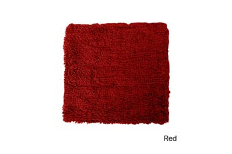Loopini Cotton Cushion Cover Red