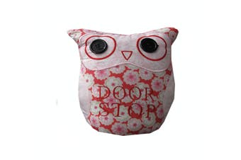 Owl Shape Door Stopper Pink by Choice