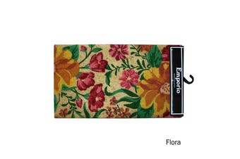 Coir Outdoor / Indoor Door Mat Flora