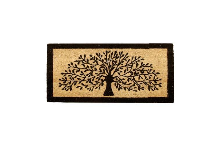 Extra Large Coir Door Mat Tree Of Life