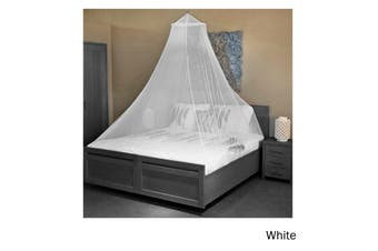 Trendy Home Mosquito Net with Hook White