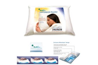 Adjustable Waterbase Water Neck Pain Reduction Standard Pillow by Mediflow