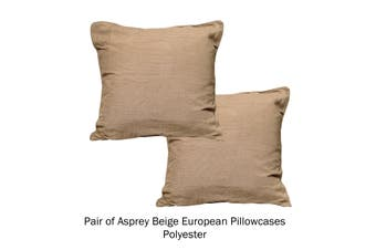 Pair of Pattern European Pillowcases Asprey