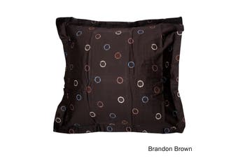 One Piece of Cotton European Pillowcase Brandon Brown