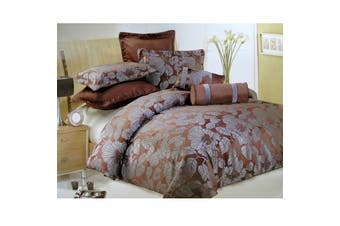 7 Pce Bliss Quilt Cover Set Bed Set QUEEN by Lux