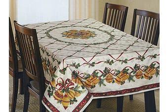 Christmas Tablecloth Bells 152 x 259 cm Rectangle