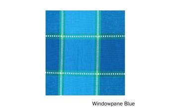 Check Table Cloth Windowpane Blue 150 x 230 cm