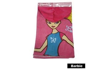 Kids Hooded Towel Barbie