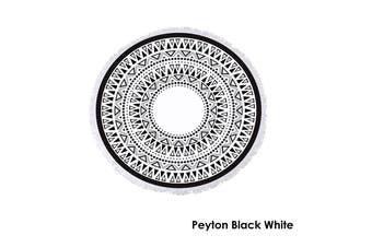 Cotton Round Beach Towel Peyton