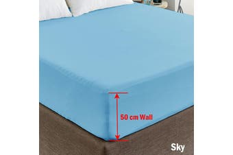 Fitted Sheet King Sky