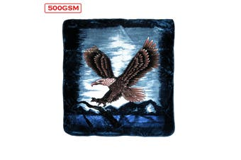 Mink Blanket Eagle Sky Queen