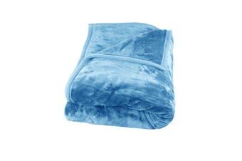 500GSM Mink Blanket Pacific