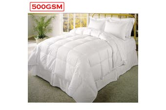 500GSM Cotton Cover Polyester Fill Quilt Queen