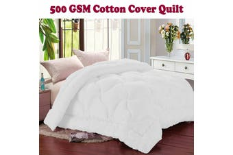 500gsm Cotton Cover Quilt Queen