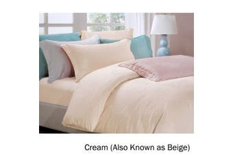 6 Piece Tencel Jacquard Bed Set Love Roses Cream (Also Known as Beige) King