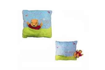 Winnie The Pooh Embroidered Cushion by Disney