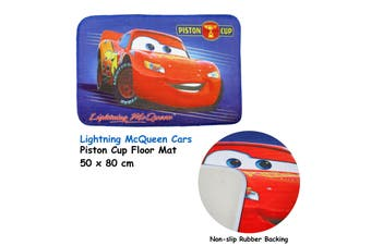 Kids Floor Mat Lightning McQueen Cars Piston Cup