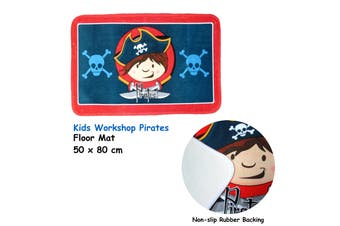 Kids Floor Mat Kids Workshop Pirate