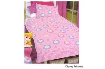 Disney Princess Quilt Cover Set Single by Disney