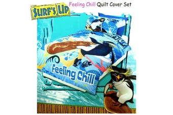Feeling Chill Quilt Cover Set Single