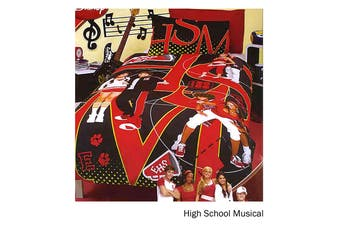 High School Musical Quilt Cover Set Single by Disney