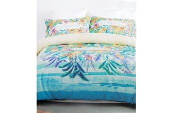 Mambo Tropical Cotton Rich Licensed Quilt Cover Set Single