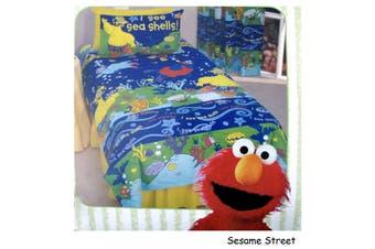 Sesame Street Quilt Cover Set Single
