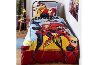 The Incredibles Quilt Cover Set Double