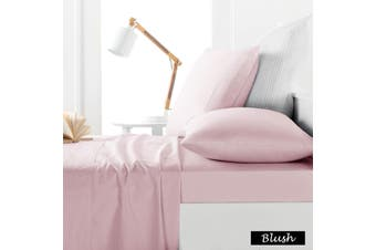 225TC Sheet Set Blush - King