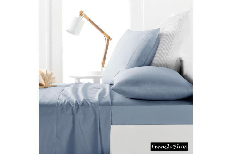 225TC Sheet Set French Blue - Double